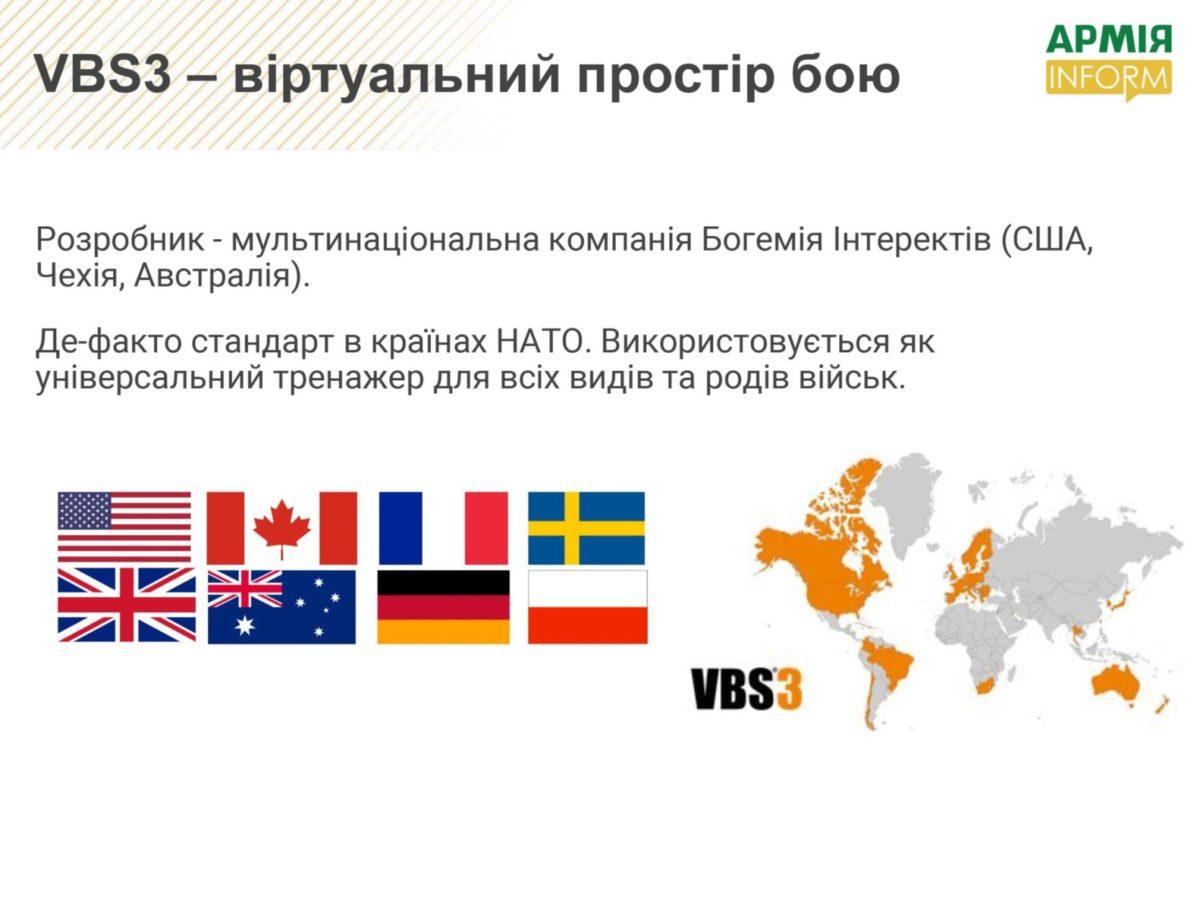 VBS3 – де-факто стандарт НАТО для тренування українських солдатів