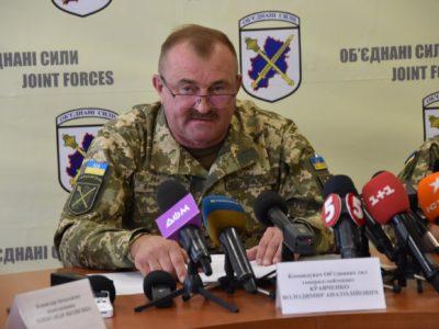 «Ніхто не може заборонити військовослужбовцям захищати себе та побратимів у випадку явної збройної агресії», – Командувач Об'єднаних сил