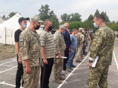 На Луганщині триває набір громадян України на військову службу за контрактом
