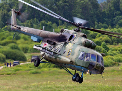 У небі над турецько-вірменським кордоном помітили російські військові вертольоти