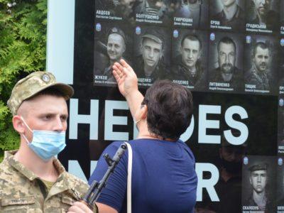 У Дніпрі вшанували пам'ять 33-х десантників, які загинули під час боїв  за Шахтарськ