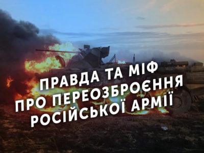 Правда та міф про переозброєння російської армії