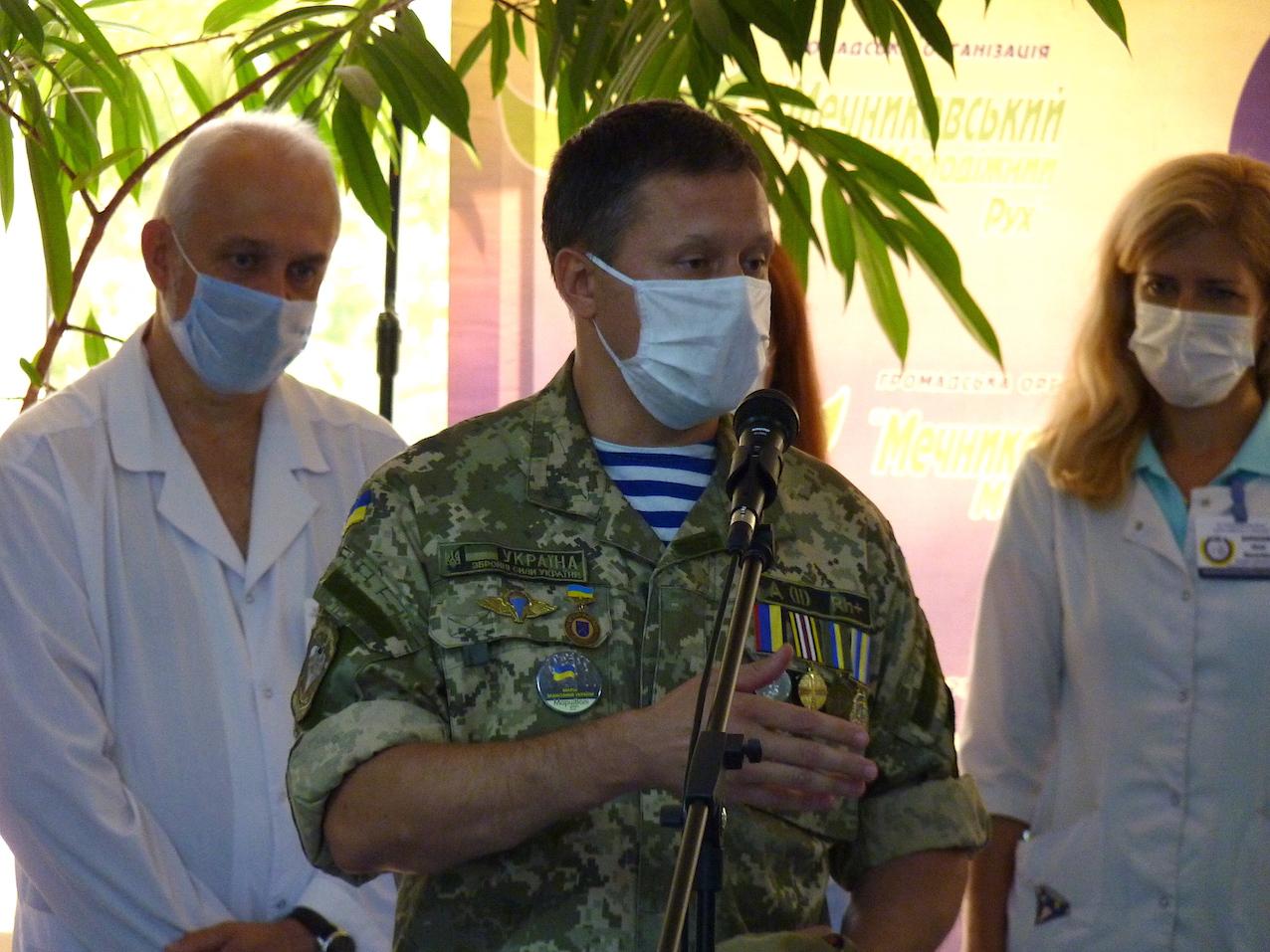 У Дніпрі найкращі лікарі провели медогляд та обстеження батьків загиблих героїв і захисників України