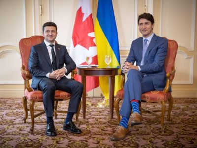 Президент України привітав Джастіна Трюдо з Днем Канади