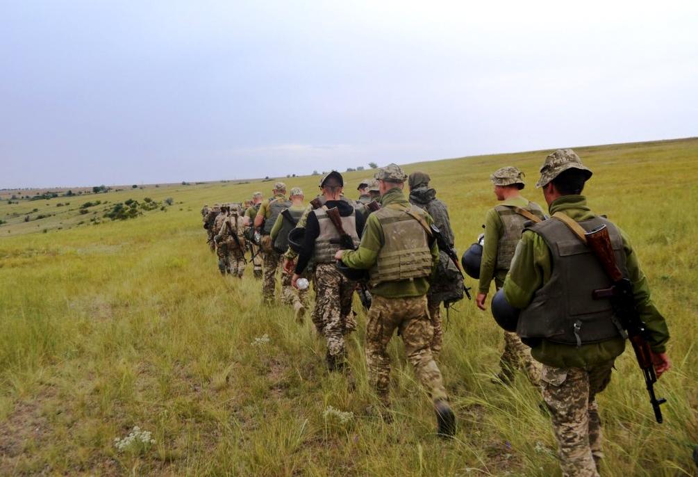 75 курсантів новоствореної Школи морського піхотинця вперше пройшли випробування у польових умовах