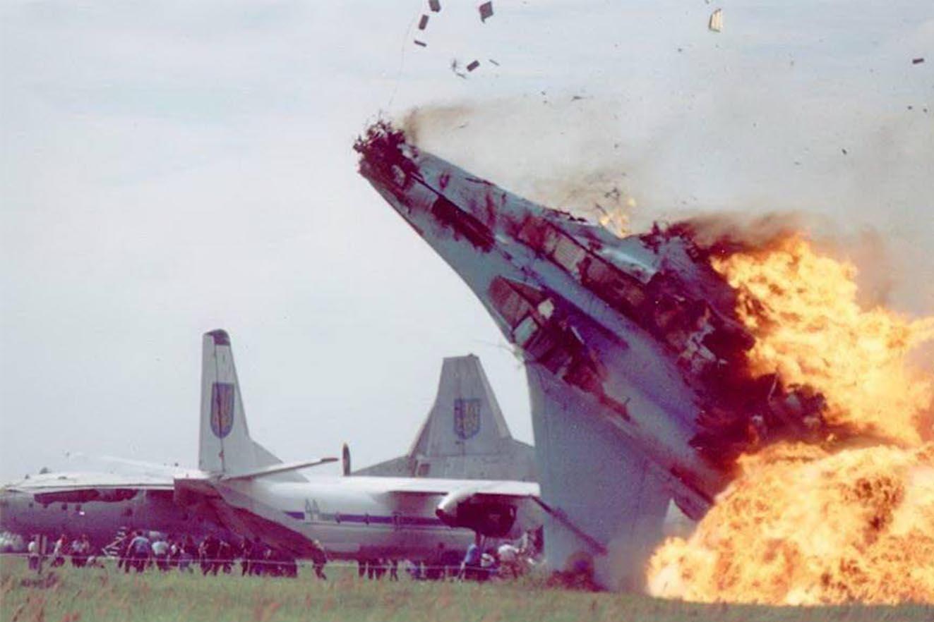 Сьогодні 18-ті роковини Скнилівської трагедії — однієї з найбільших аварій в історії авіашоу