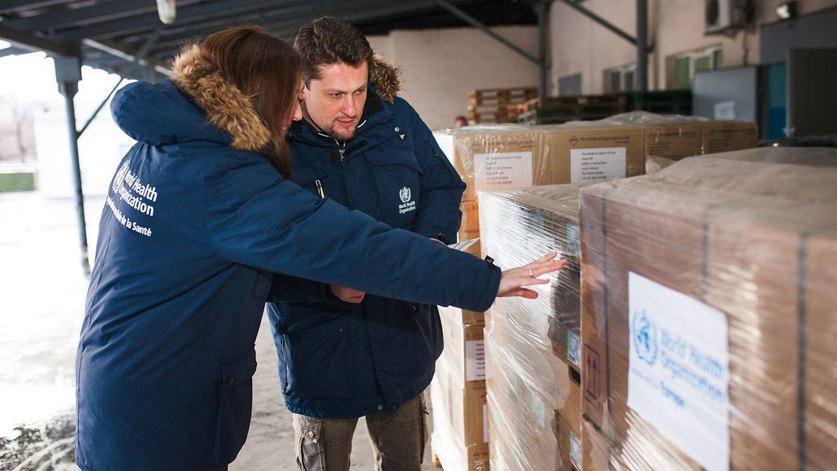 Німеччина надає мільйон євро для роботи ВООЗ на Донбасі