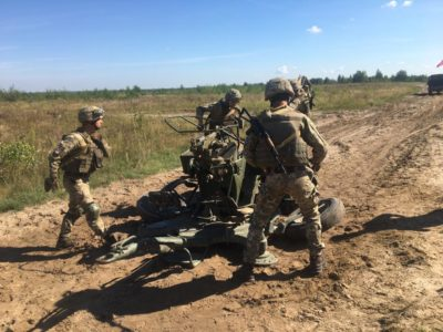 Найкращі зенітники служать у Десантно-штурмових військах