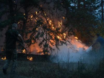 Штаб ООС просить населення дотримуватися норм пожежної безпеки
