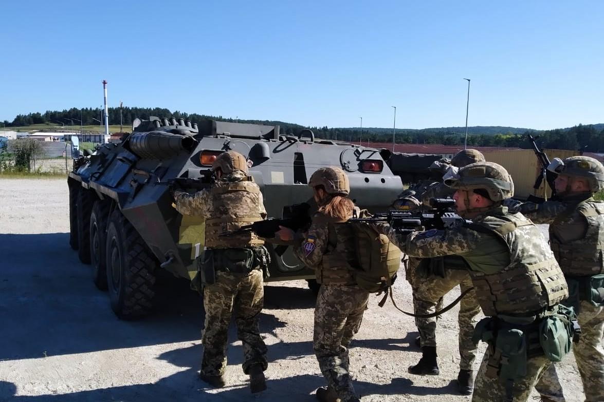 Українські десантники відкрили сезон міжнародних навчань