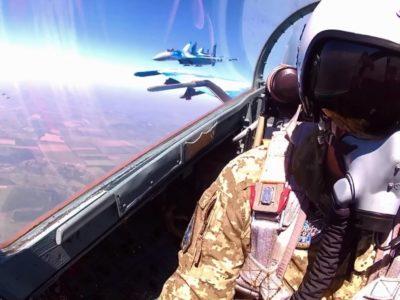 У бригаді тактичної авіації проведено льотно-тактичне навчання