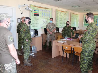 Представники тренувальної місії UNIFIER проводять тренінги в Одесі