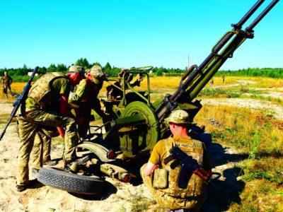 Зенітники Сухопутних військ «вполювали» вертоліт