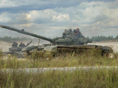 Вітчизняну систему LASERTAG уперше випробовують під час танкових двобоїв