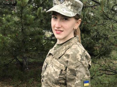 Лейтенант медичної служби Ольга Савків