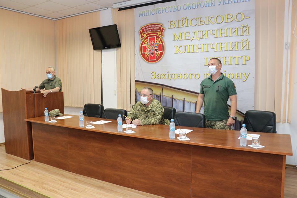 Львівський військовий госпіталь очолив кавалер ордена Богдана Хмельницького
