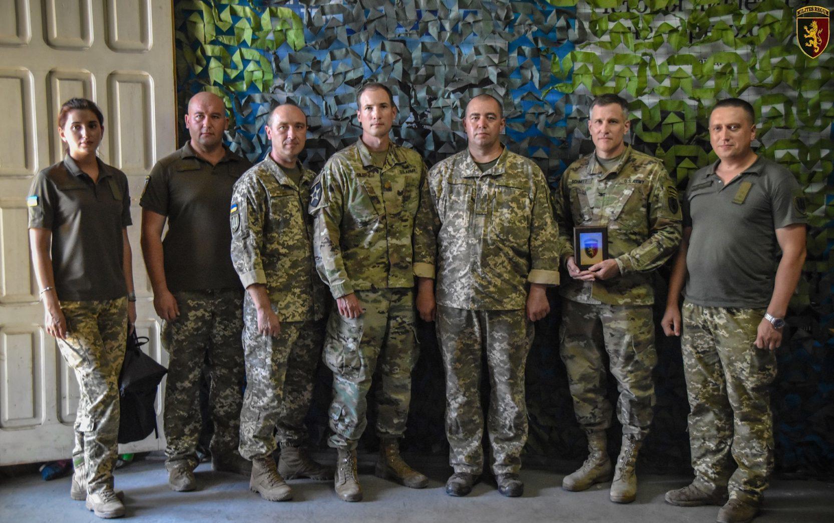 Американська делегація відвідала «королівську» бригаду в ООС