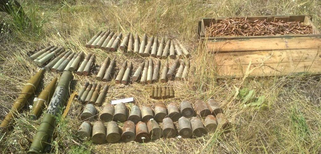На Луганщині СБУ викрила схрон найманця РФ, причетного до підриву мосту