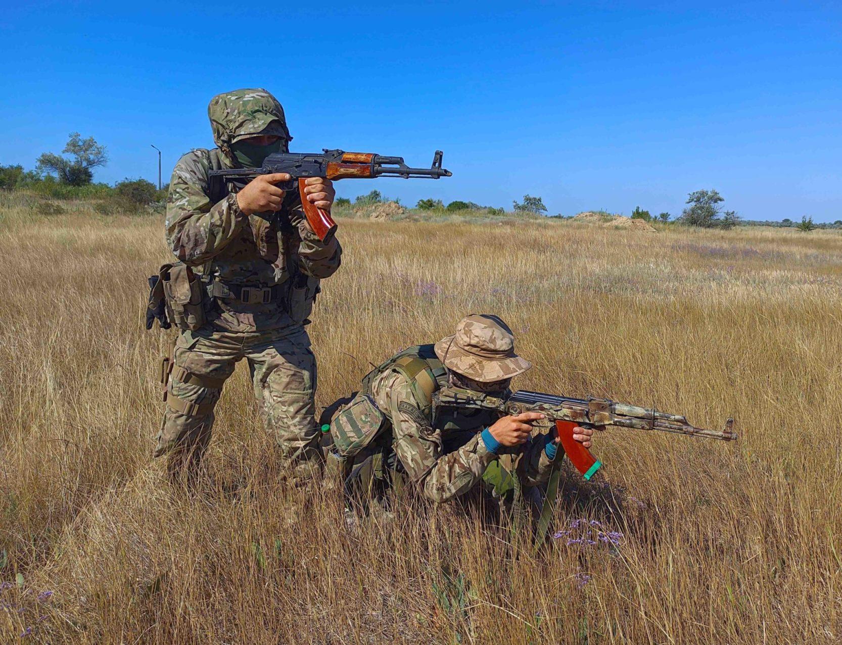 Морпіхи відпрацювали дії під час «нападу ворога»