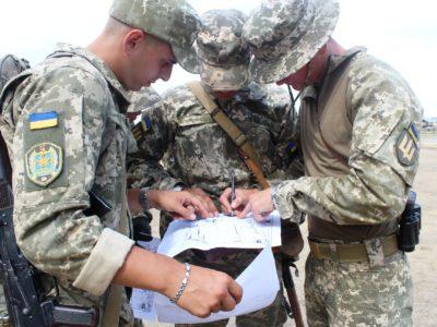 Майбутні офіцери запасу «приміряли» посади командирів взводів