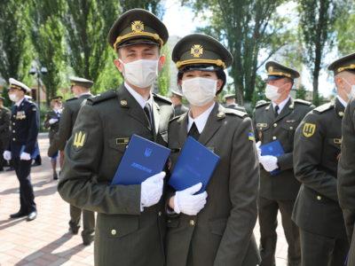 У Військовому інституті Київського національного університету імені Тараса Шевченка відбувся випуск лейтенантів