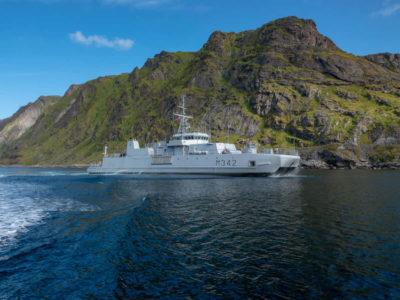 Кораблі НАТО розчистили ділянку узбережжя Норвегії від мін часів Другої світової