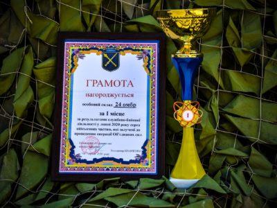 Королівську бригаду визнали найкращою у районі ООС у липні