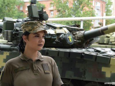 Можемо бути сильними! – абітурієнтки Військового інституту танкових військ