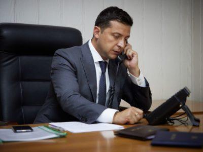 Президент України провів телефонну розмову з Державним секретарем США