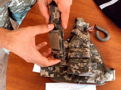 """Нові постачання у війська у 2020 році: кобура, адміністративна сумка і """"беруші"""""""