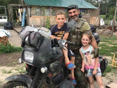 Розвідник Олег Бондаренко («Птах»): «Після фронту від депресії врятувала робота з дітьми»