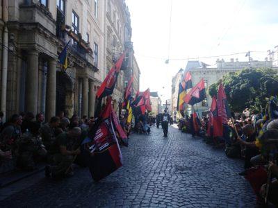 У Львові в останню путь провели комбата 8-го окремого батальйону «Аратта» Андрія Гергерта