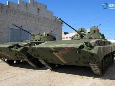 Житомирський бронетанковий завод передав війську чергову партію бойових машин піхоти