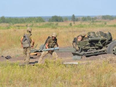 Артилеристи забезпечили наступ механізованого батальйону