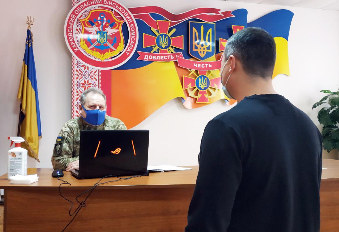 Цього року понад 1100 мешканців Харківщини обрали шлях воїна-контрактника