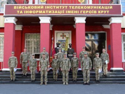 У ВІТІ відбувся перший випуск курсів лідерства офіцерського складу
