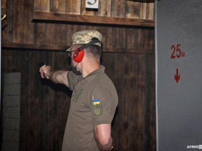 Чемпіоном спартакіади Вінницького гарнізону зі стрільби став цьогорічний випускник ХНУПС