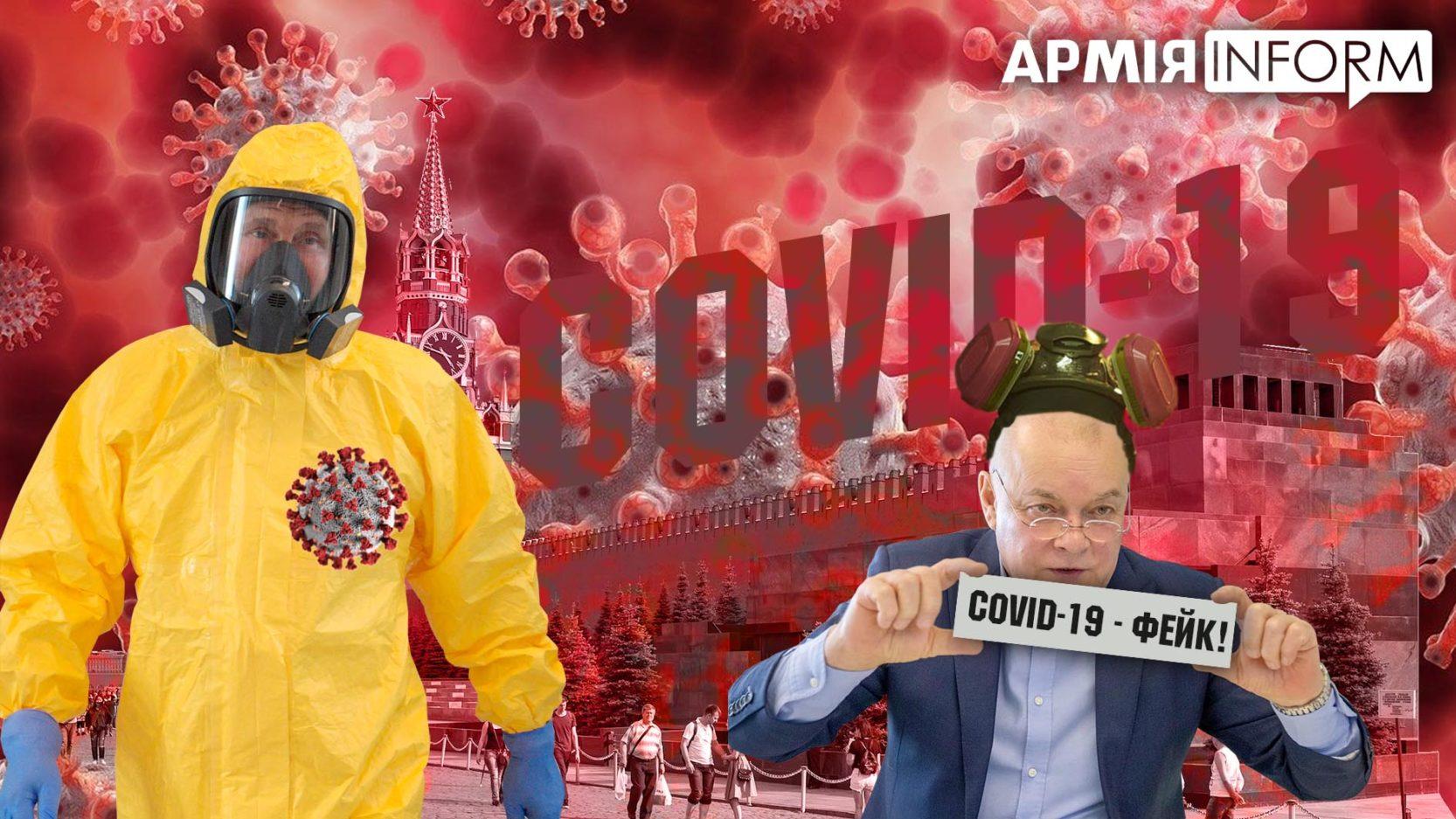 Російські побрехеньки про COVID-19: гібридна війна проти всього світу