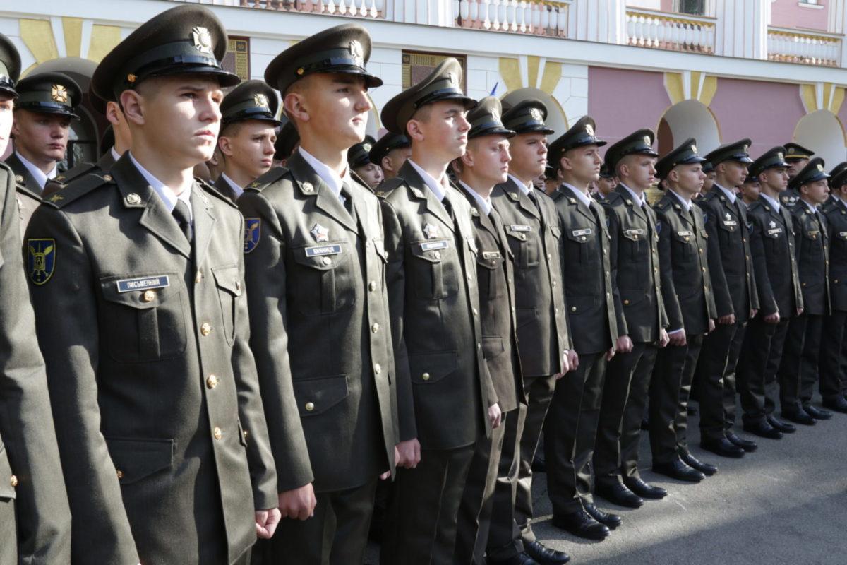 Цього року до військових вишів зараховано близько 200 учасників АТО/ООС
