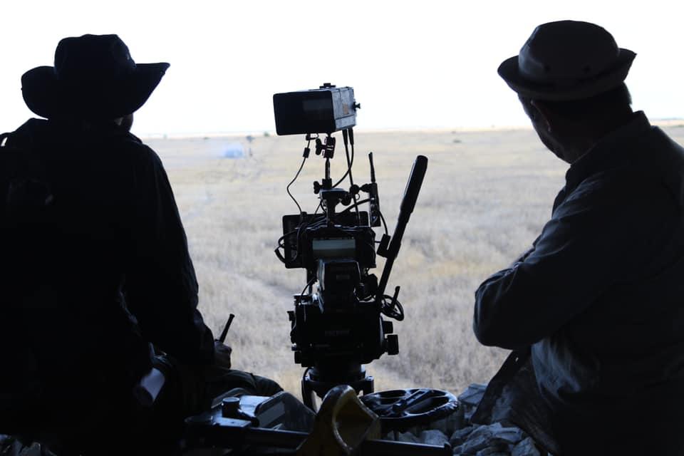 Як військовий полігон перетворили в знімальний майданчик