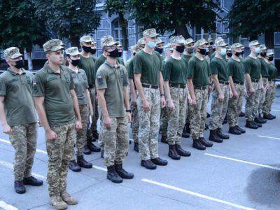 Першокурсники ВІТІ розпочали первинну військово-професійну підготовку
