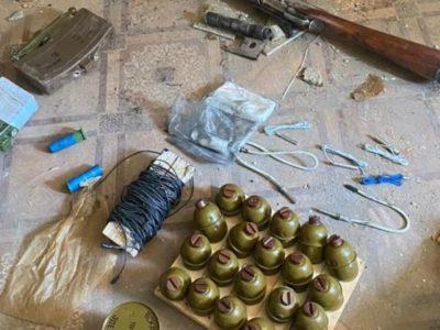 СБУ знешкодила в ООС ворожий схрон із вибухівкою