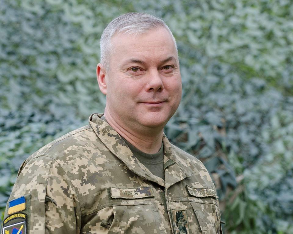 Привітання командувача Об'єднаних сил Збройних Сил України з нагоди Дня Повітряних Сил Збройних Сил України