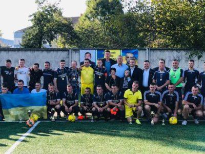 На Львівщині відбувся турнір з мініфутболу, присвячений Героям АТО