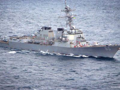 Патрульний катер ВМС ЗСУ провів тренування типу PASSEX разом з кораблем США