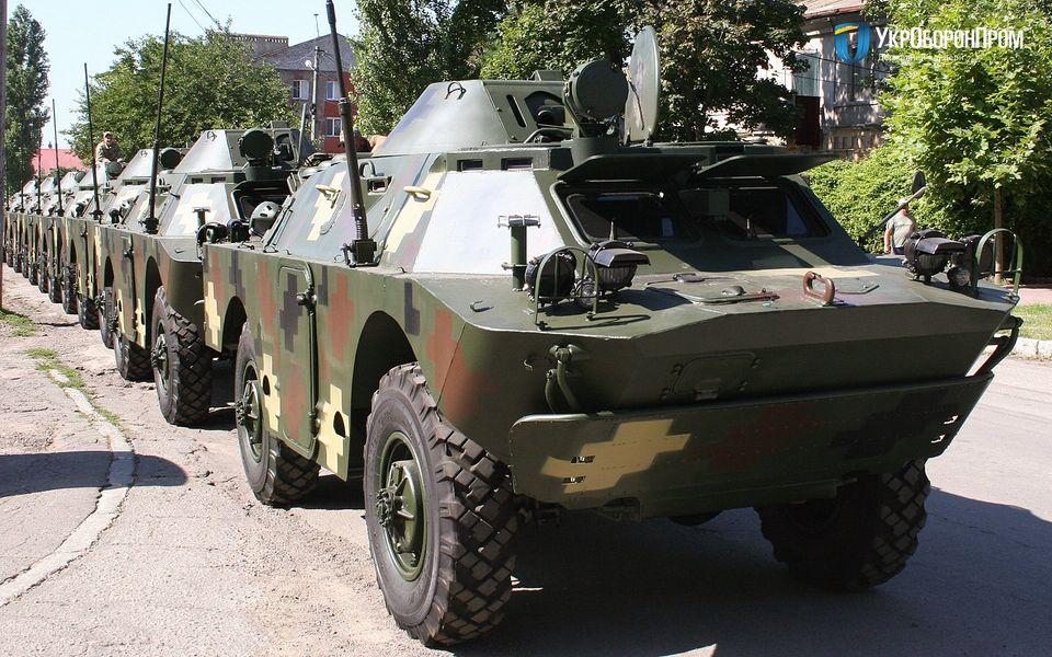 Миколаївський бронетанковий завод достроково виконав замовлення з ремонту і модернізації БРДМ