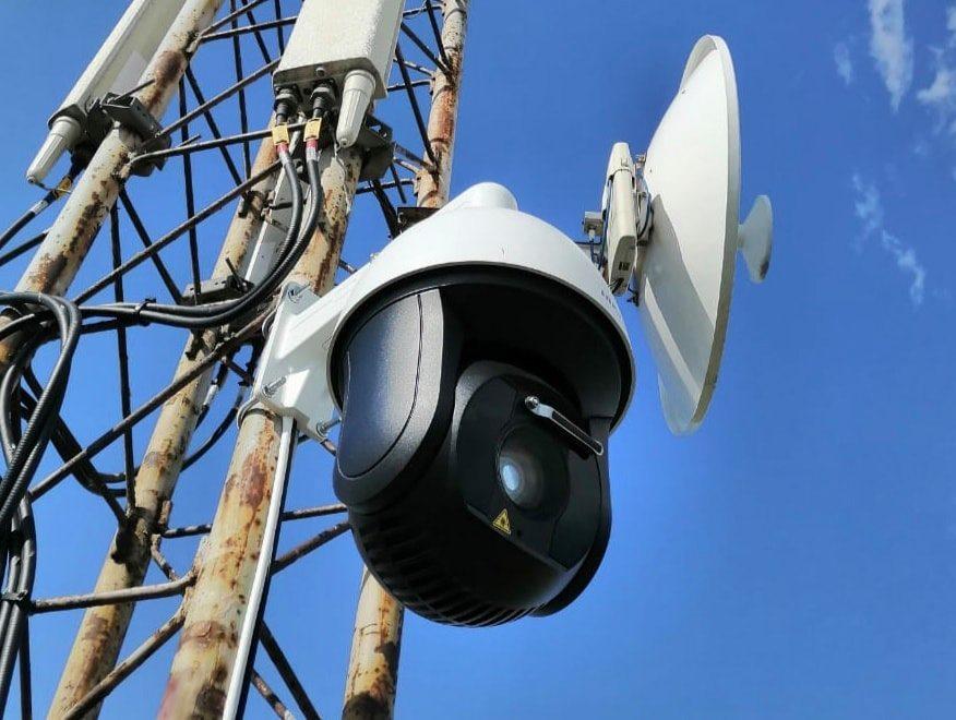 На адміністративній межі між материковою Україною та півостровом Крим встановлено технічні пристрої відеоспостереження