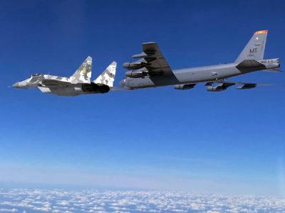 Стратегічні бомбардувальники ВПС США знову в українському небі