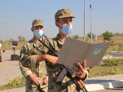 Лави захисників України поповнили сотні першокурсників Військової академії (м. Одеса)