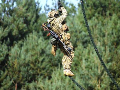 «Rapid Trident 2020»: безпосадкове десантування і удар по терористах